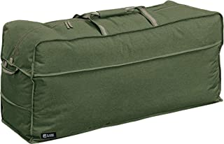 Classic Accessories Montlake FadeSafe Heavy Duty Patio Cushion & Cover Storage Bag, Heather Fern