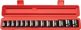 TEKTON 1/2-Inch Drive Shallow Impact Socket Set, Inch, Cr-V, 6-Point, 3/8-Inch –..