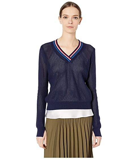 Paul Smith V-Neck Knitted Sweater