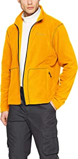 Columbia 绒毛夹克带全长拉链,适合男士,Fast Trek Light 全拉链毛绒外套,聚酯超细摇粒绒材质