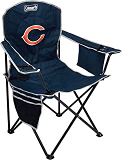 Coleman NFL Cooler Quad Folding Tailgating & Camping Chair with Built in Cooler and Carrying Case (All Team Options)