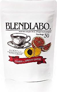 ふくちゃ ブレンドラボ フレーバーティー ルイボス 30包 (アプリコットオレンジ)