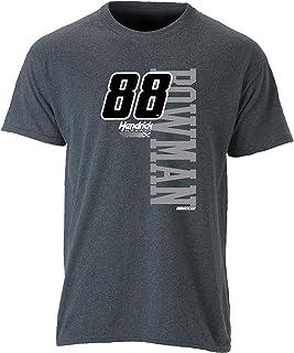 NASCAR Hendrick Motorsports Men's Ouray Short Sleeve Tee, Graphite/Vertical, XX-Large