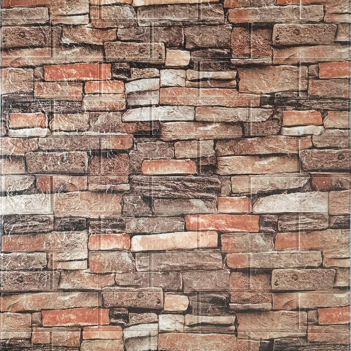 Cozylkx 3D Self Adhesive Foam NEW before selling ☆ Wall sq 10 Tiles 57 Cover mart Panels