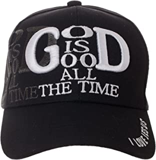 a06834097f39d Artisan Owl God is Good All The Time Hat Religious Christian Gift - 100%  Cotton