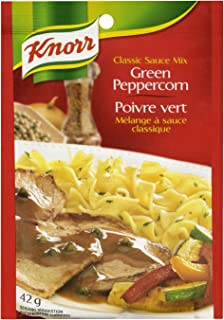 Knorr Green Peppercorn Classic Sauce Mix 42g, 24 count