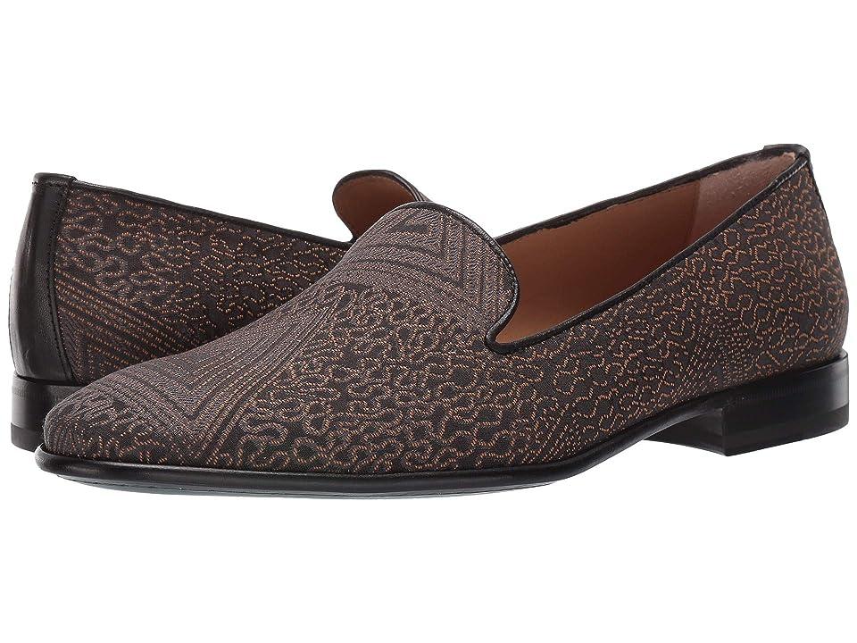 Etro Evening Loafer (Black/Gold) Men's Shoes