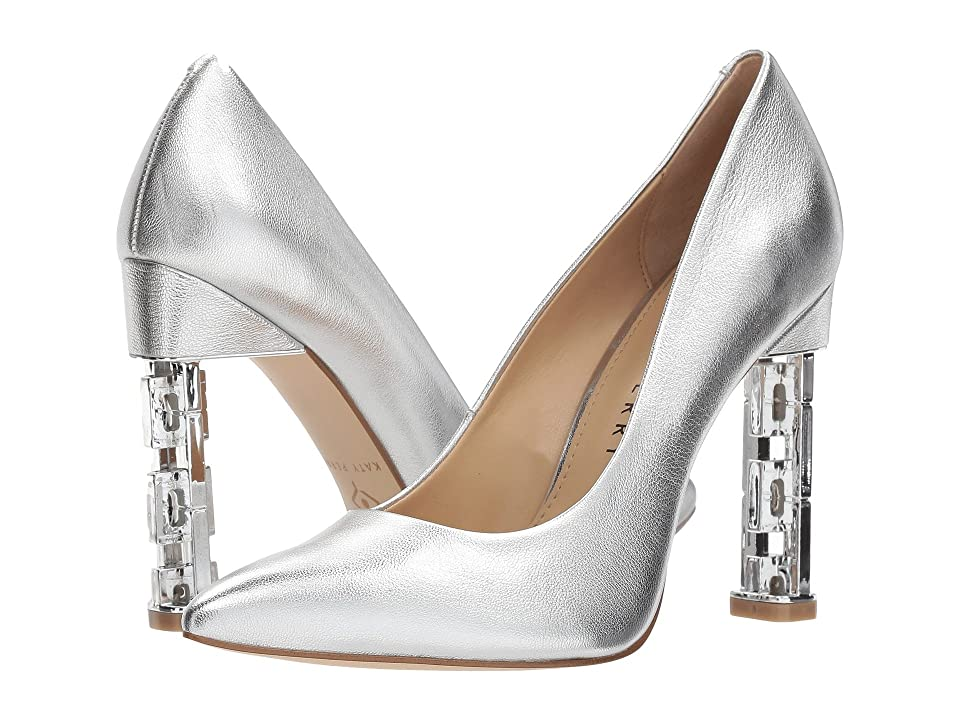 Katy Perry The Suzanne (Silver Metallic Leather) Women
