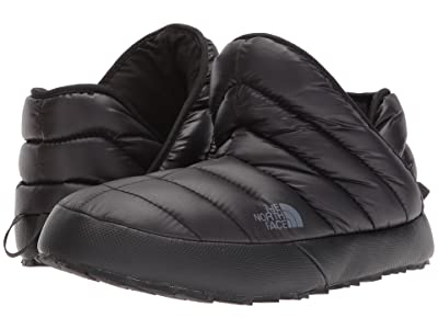 The North Face ThermoBall Traction Bootie (Shiny TNF Black/Dark Shadow Grey) Men