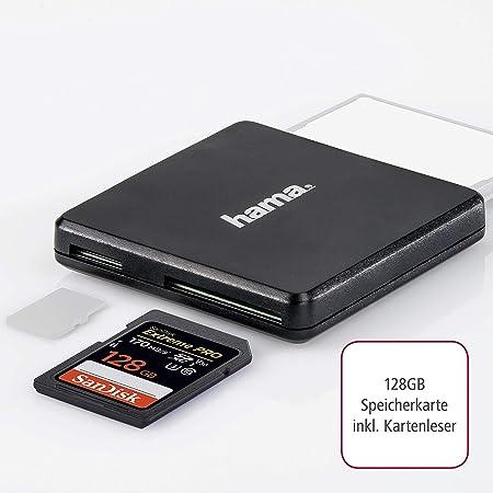 Sandisk Extreme Pro 128 Gb Sdxc Speicherkarte Bis Zu Computer Zubehör