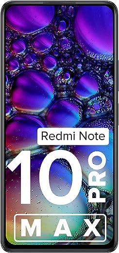 Redmi Note 10 Pro Max (Dark Night, 6GB RAM, 128GB Storage) -108MP Quad Camera | 120Hz Super Amoled Display