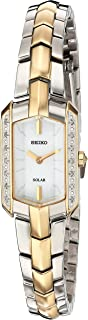Women's Tressia Japanese-Quartz Watch with Stainless-Steel Strap, Two Tone, 10 (Model: SUP358)