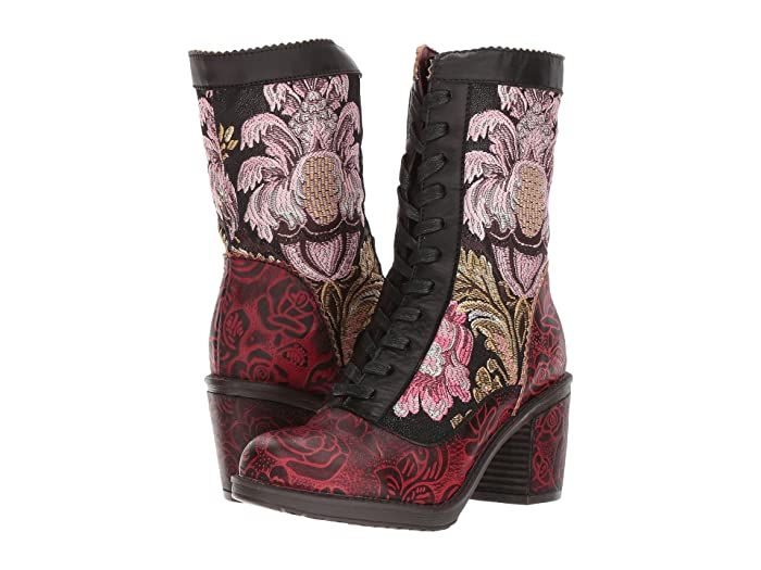 Steampunk Costumes, Outfits for Women LArtiste by Spring Step Casandra Black Womens Shoes $169.95 AT vintagedancer.com