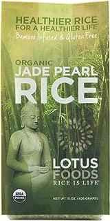 Lotus Foods Gourmet Organic Jade Pearl Rice, 0.94 Pound (Pack of 6)