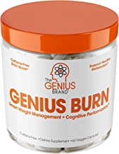 Genius Fat Burner - Thermogenic Weight Loss & Nootropic Focus Supplement - Natural Metabolism & Energy Booster for Men & W...