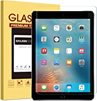 "New iPad 9.7"" (2018 & 2017) / iPad Pro 9.7 / iPad Air 2 / iPad Air Screen Protector, SPARIN Tempered Glass Screen..."
