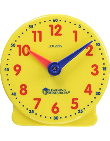 Kids School Clock Learning Hello Kitty Tell The Time Magnets