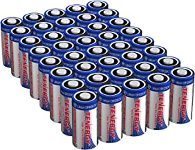 Tenergy 1500mAh 3V CR123A Lithium Battery, High Performance CR123A Cell Batteries PTC..