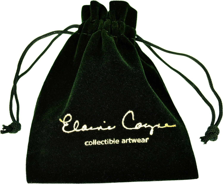 Elaine Coyne Wearable Art Verdigris Patina Brass Contemporary Leaves Cuff Bracelet - Amethyst, Carnelian, Garnet