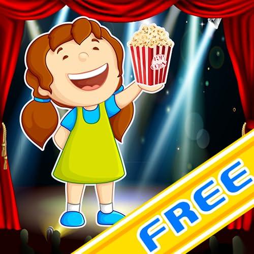 Hollywood Movie Theater : die Butter Popcorn Schießen Spiel - Gratis-Edition