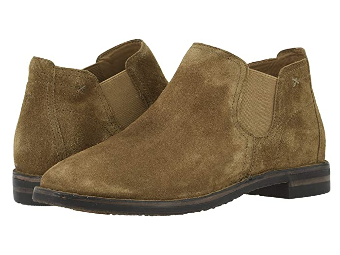 Trask  Allison (Whiskey Italian Oiled Suede) Womens Dress Boots