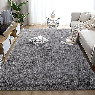 Wondo Ultra Soft Area Rug Shag Fluffy Rugs for Bedroom...