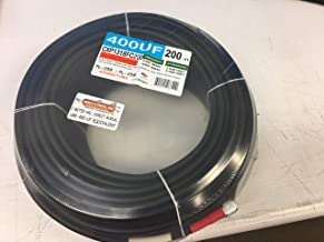 200 ft Low Loss LMR-400 Flexible Direct Burial Coaxial Cable w/PL-259 for Ham Radio