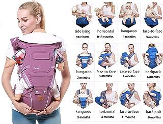 Porte-b/éb/é Buzzidil pour b/éb/é et enfant Porte-abdominal dos et hanche Standard