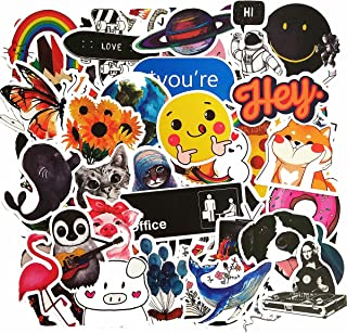 Cute Trendy Stickers for Teens Girls, Perfect for Water Bottles, Skateboard, Laptops, Phone, Luggage Vinyl Decal Sticker Pack Waterproof (100 Pieces)