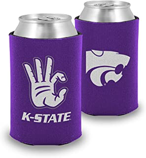 Root Sportswear Kansas State University K-State Wildcats WC Hand Sign Insulated Foam Can Cooler (One, Double Sided)
