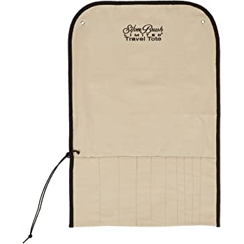 Silver Brush 9580 Travel Totes Roll Up Storage Bag for Long Handle Brushes
