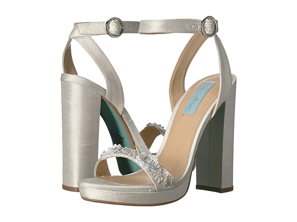 Blue by Betsey Johnson Laken (Ivory) High Heels