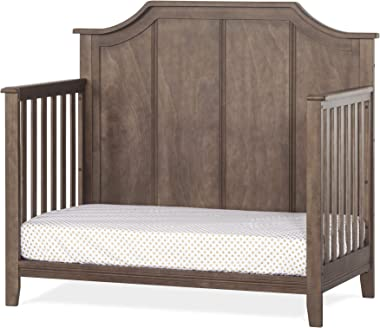 Child Craft Rylan 4-in-1 Convertible Baby Crib, Cocoa Bean Brown