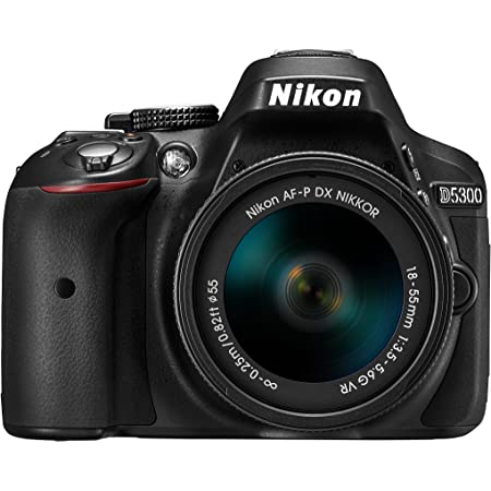 Nikon デジタル一眼レフカメラ D5300 AF-P 18-55 VR レンズキット ブラック D5300LKP18-55