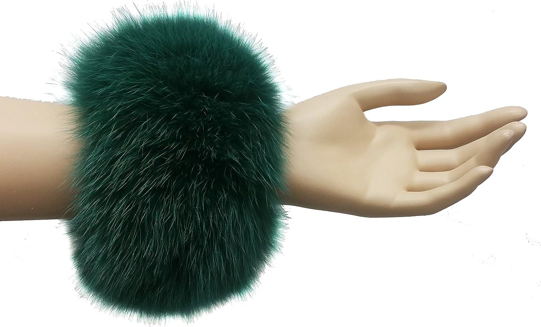Hima Real Fox Fur Cuff