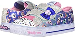 SKECHERS KIDS - Twinkle Toes: Shuffles - Princess Paw 10918N Lights (Toddler/Little Kid)