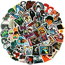 Classic American Movies Sticker Pack of 50 Stickers – Film Stickers for Laptop,..