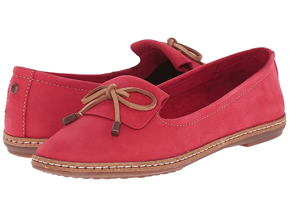 Hush Puppies Adena Piper (Red Leather) Women