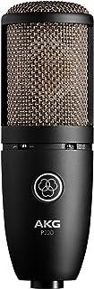 AKG Vocal Condenser Microphone, Black, 6.00 x 8.00 x 12.00 (3101H00420)