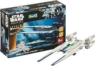 Revell- Star Wars Build & Play Rebel U-Wing Fighter, con Luces y Sonidos, Escala 1:100(6755)(06755), 28,0 cm de Largo (
