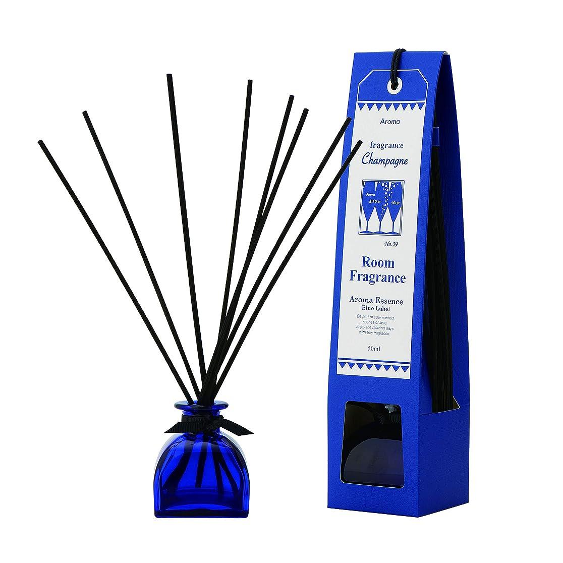 オリエンタル形鳴り響くブルーラベル ルームフレグランス シャンパン 50ml(芳香剤 リードディフューザー フルーティーですっきりとした香り)