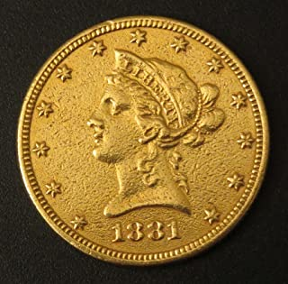 1881 P Liberty Head Gold Eagle $10 Extremely Fine