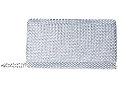 Jessica McClintock Cassie (Silver) Clutch Handbags
