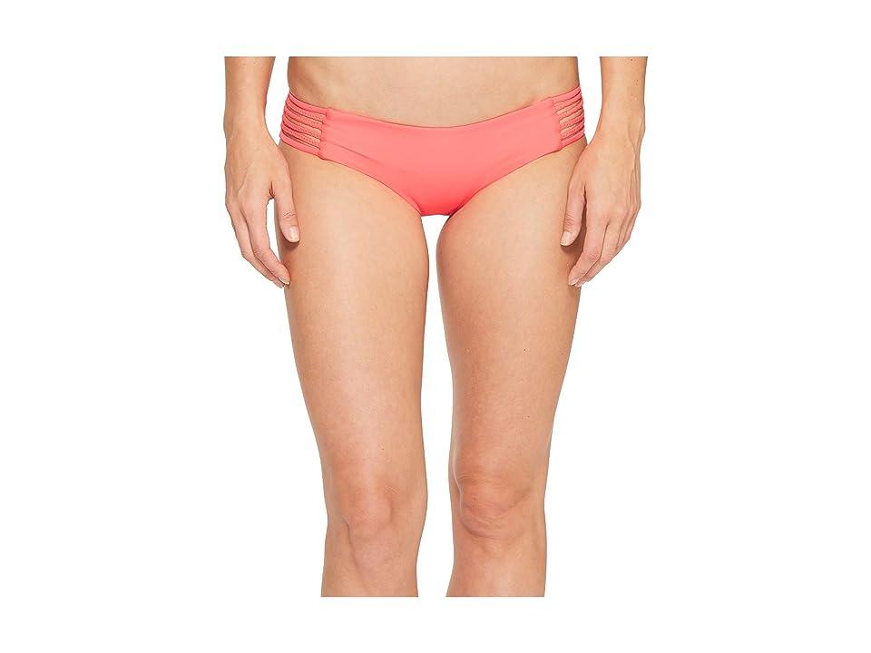 Vitamin A Swimwear Jaydah Braid Bottom Full (Eco Starfruit) Women
