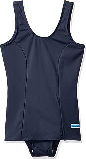 トンボ 女子スカート付きワンピーススクール水着(旧タイプ・裾切り替えタイプ) Lサイズ