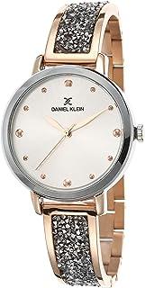 DANIEL KLEIN Premium Alloy Case Stainless Steel Band Ladies Wrist Watch - DK.1.12450-4