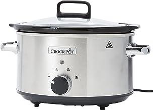 Crock-Pot CSC028X-01 slow cooker 3,5 l, 3,5 liter, geborsteld roestvrij staal