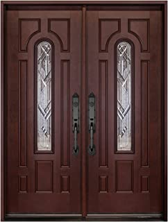 Best double front entry doors fiberglass Reviews