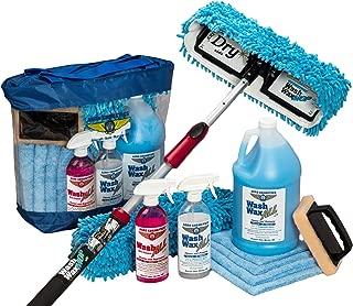 Aero Cosmetics Waterless RV Aircraft Boat Wash Wax Mop Kit, No Ladder Needed, Wash, Wax, Dry, Anywhere, Anytime, No Restrictions