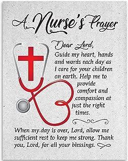 Dear Lord - A Nurse's Prayer - 11x14 Unframed Art Print - Great Gift For Nurse's Day!